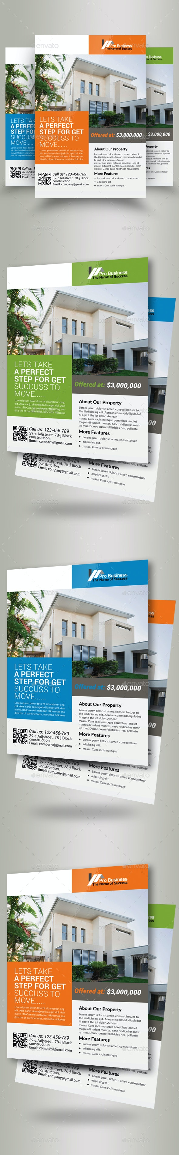 Real Estate Agency PSD Flyer - Commerce Flyers