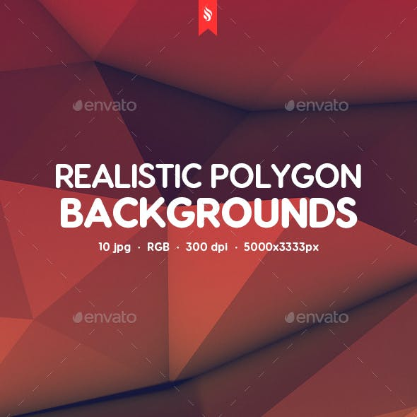 Realistic Polygon Backgrounds