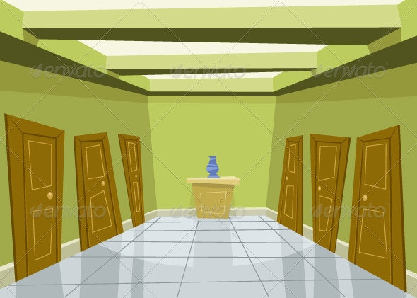 Corridor - Buildings Objects
