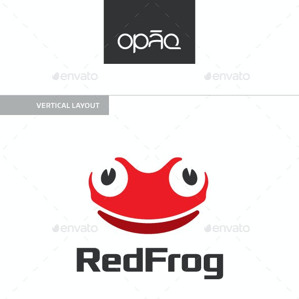 Red Frog Toad Logo