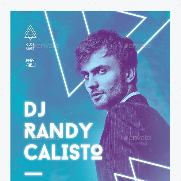 DJ Concert Flyer vol 2