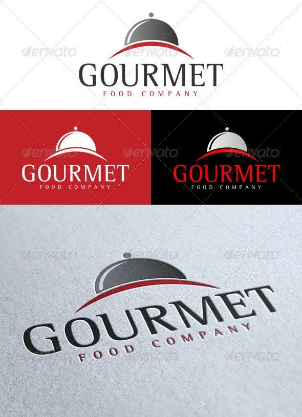 'Gourmet' Logo - Food Logo Templates