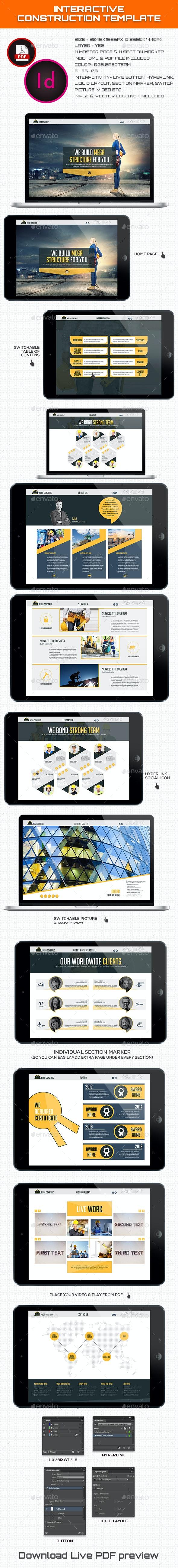 Interactive Construction Template - Digital Books ePublishing