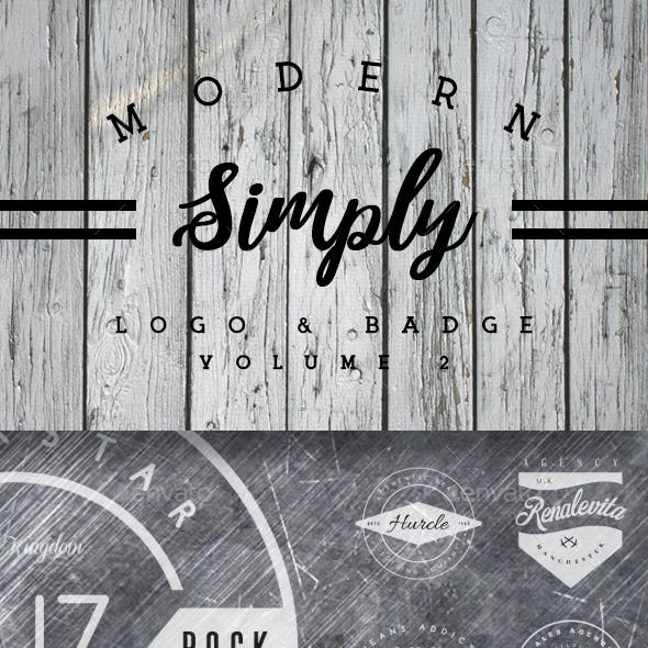 Vintage Logo & Badge Vol. 2
