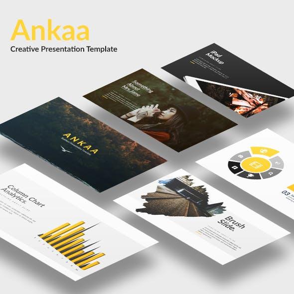 Ankaa - Creative Google Slide Template