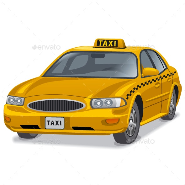 Taxi Car - Travel Conceptual