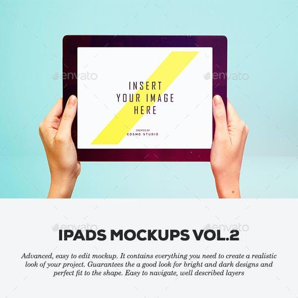 iPads Mockups Vol.3