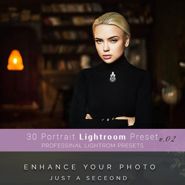 30 Portrait Lightroom Preset