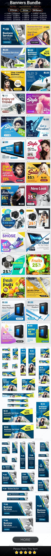 Bundle Multipurpose Banners Ads Design - Banners & Ads Web Elements