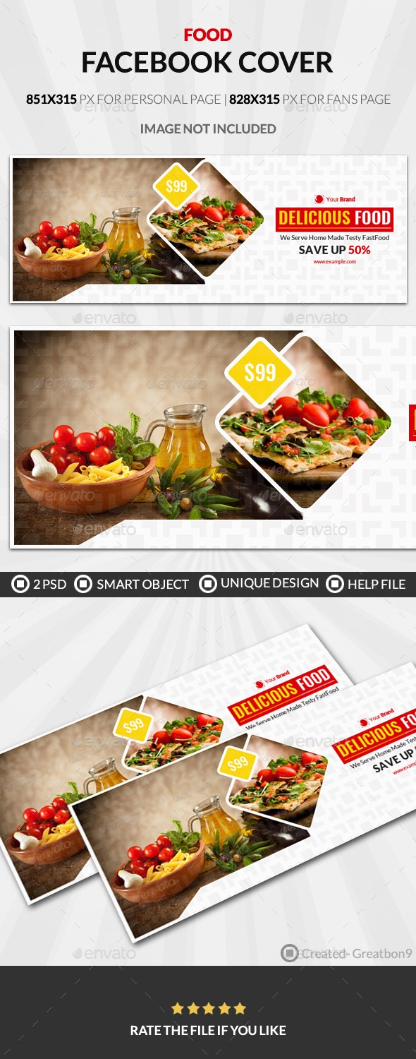 Food And Restaurant Business Facebook Cover - Facebook Timeline Covers Social Media