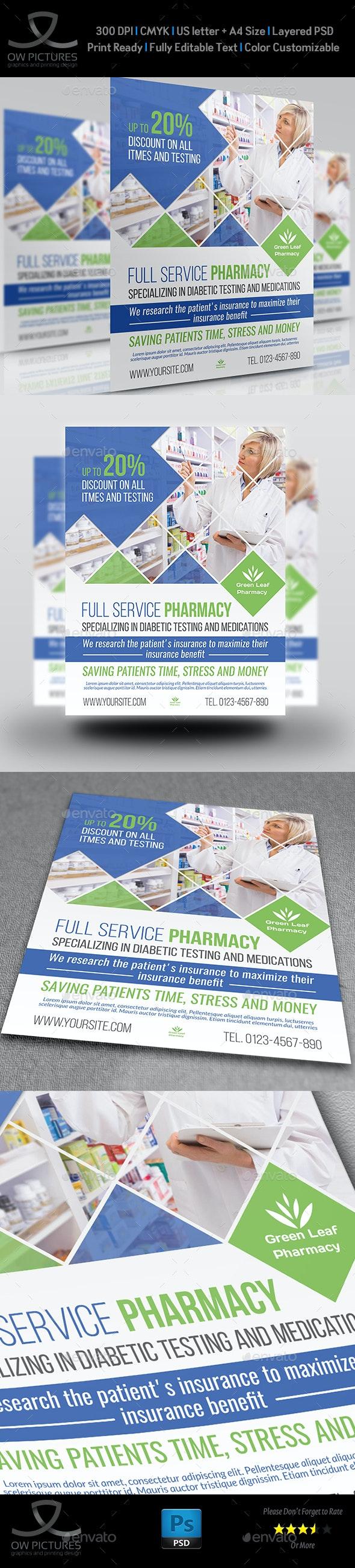 Pharmacy Flyer Template Vol.4 - Commerce Flyers