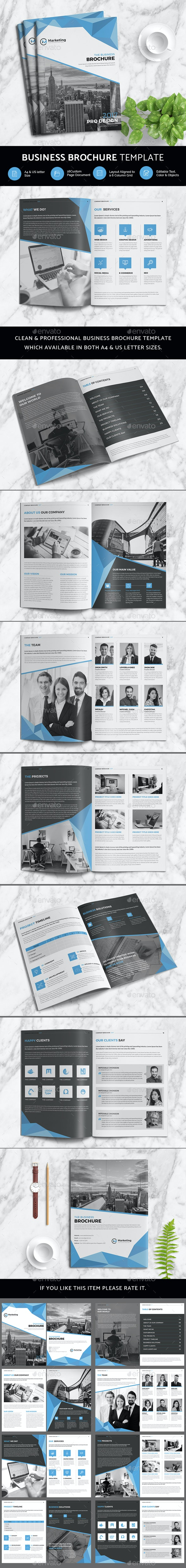 Business Brochure - Print Templates