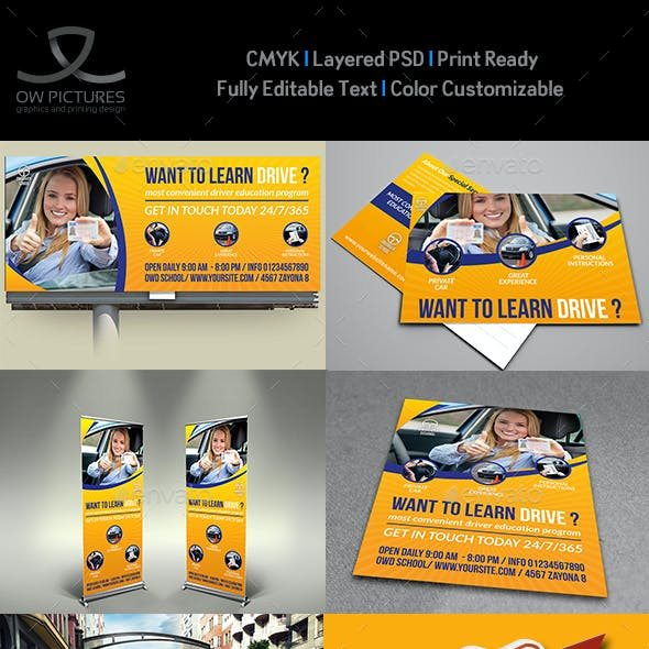 Driving School Advertising Bundle