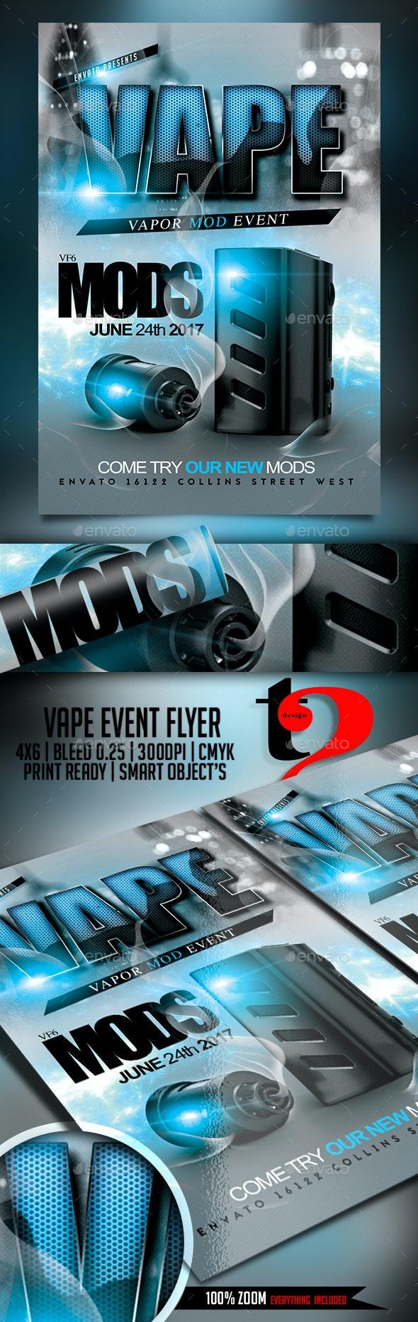 Vape Mods Template - Clubs & Parties Events