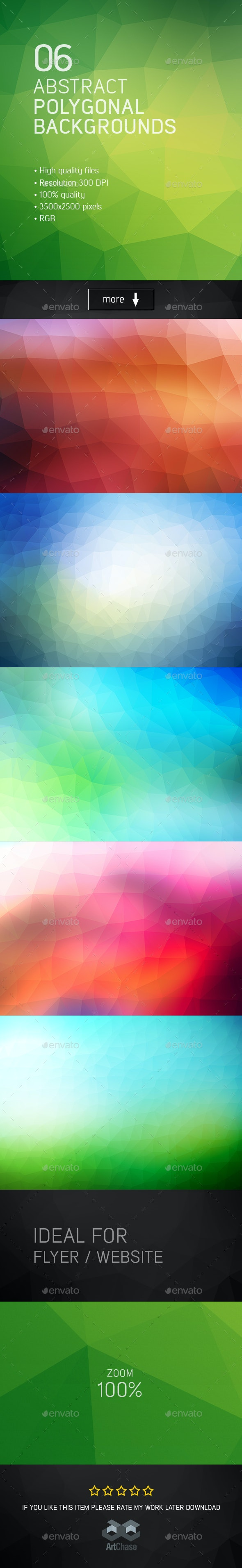 Abstract Polygonal Backgrounds - Abstract Backgrounds