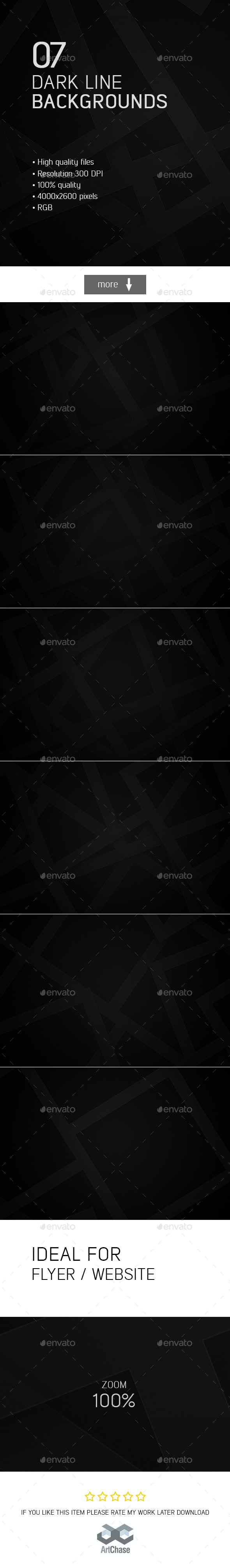 Dark Line Backgrounds - Abstract Backgrounds