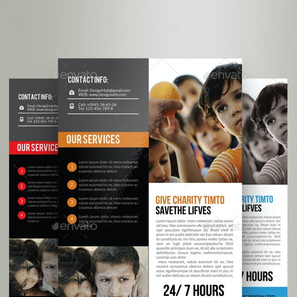 Charity & Donation Flyer Templates
