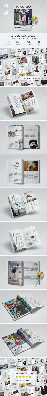 The Influential Magazine - Magazines Print Templates