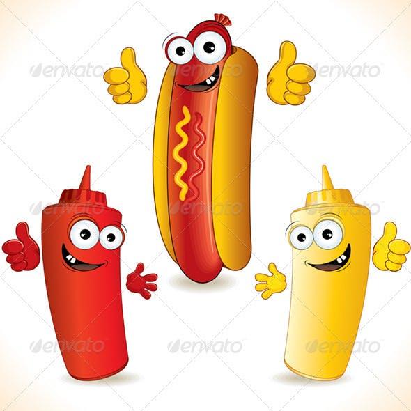 Funny Hot Dog