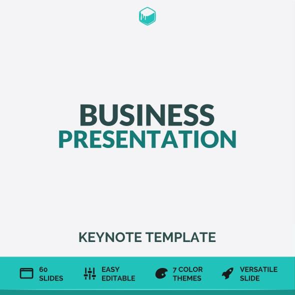 Business Presentation - Keynote Template