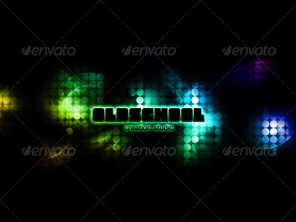 Retro style background - Backgrounds Graphics