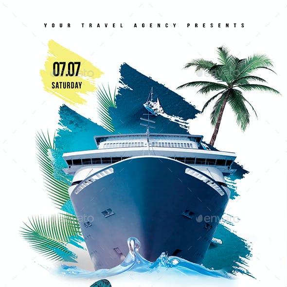 Summer Island Tour Flyer