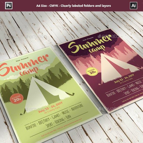 Summer Camp Flyer/Poster Template