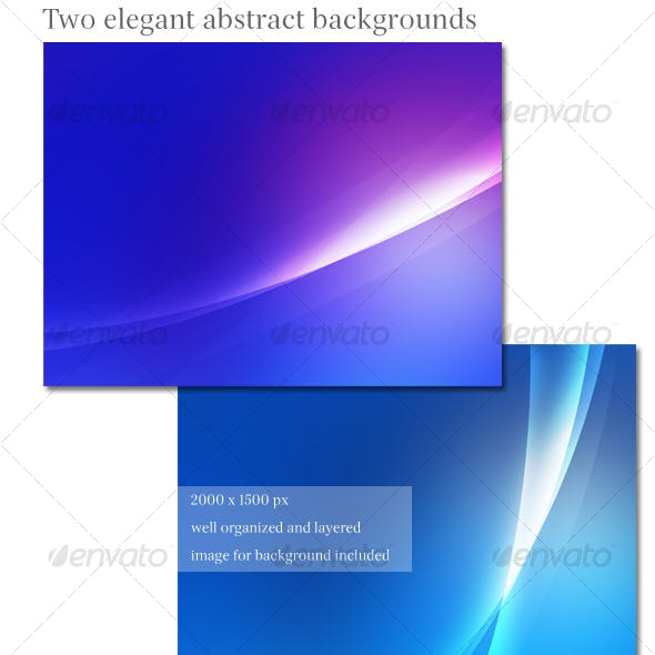 Modern and sleek abstract background