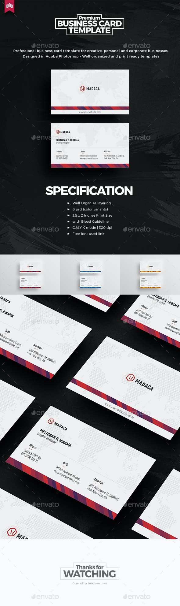 Creative - Pro Business Card v.3 - Creative Business Cards