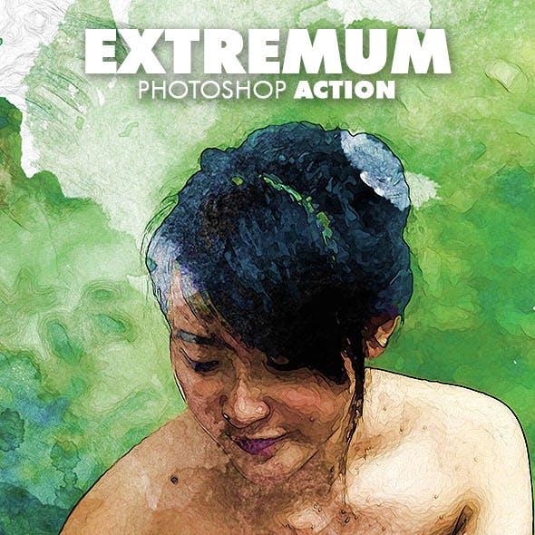 Extremum Photoshop Action
