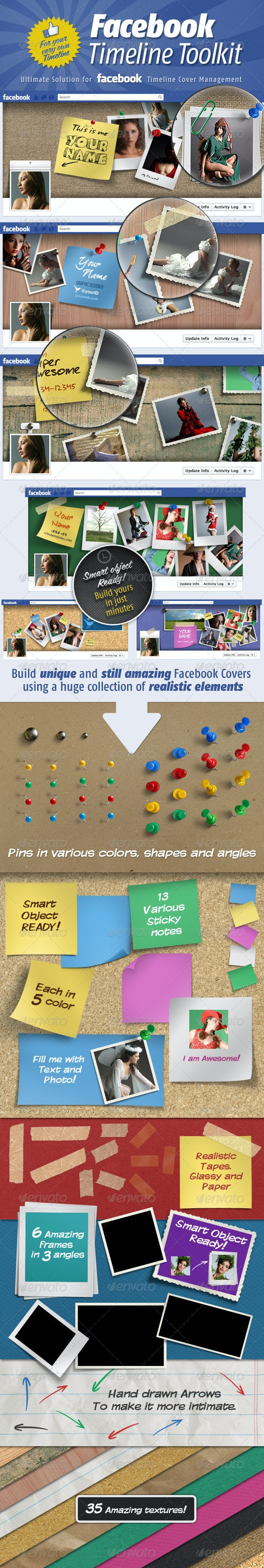 Facebook Timeline Cover Toolkit - Facebook Timeline Covers Social Media