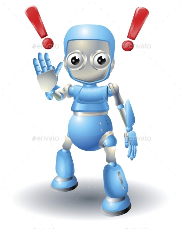Robot Character Caution - Miscellaneous Characters