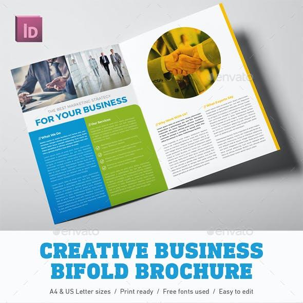 Creative Business Bifold Brochure