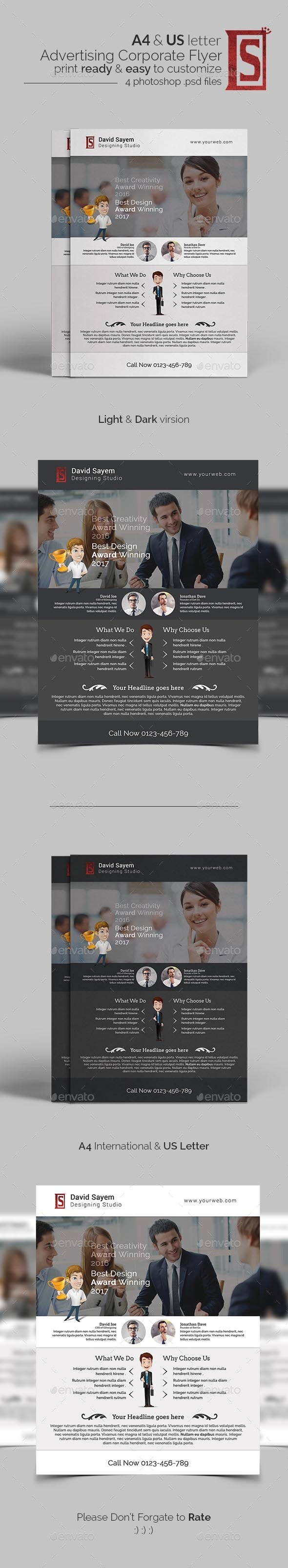 Advertising Buisiness Flyer - Corporate Flyers