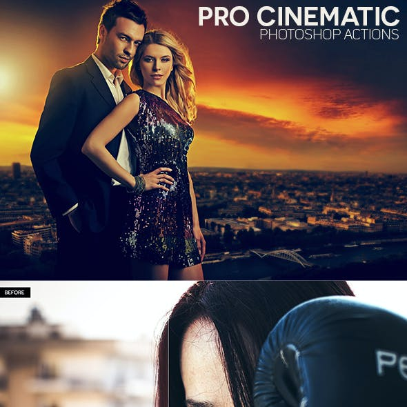 Pro Cinematic Photoshop Actions