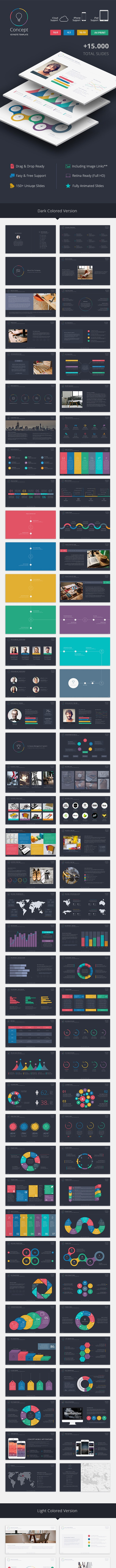 Concept Keynote Template - Creative Keynote Templates