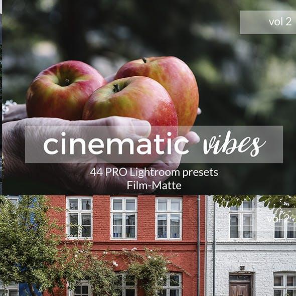 Cinematic Vibes Vol 2 Lightroom Presets