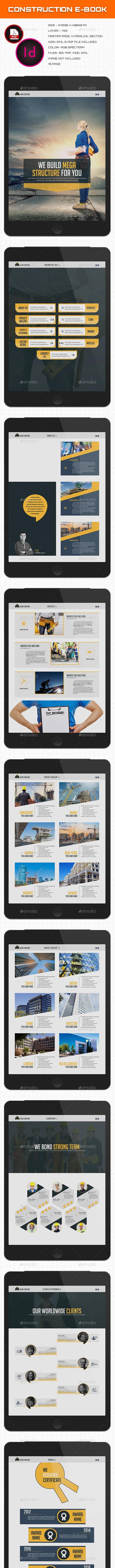 Construction E-book - Digital Books ePublishing