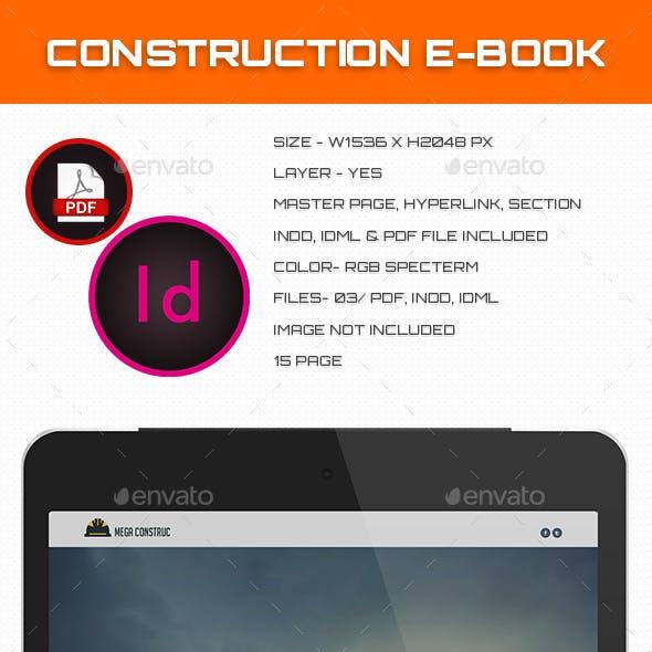 Construction E-book