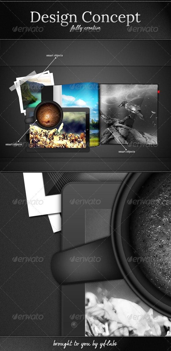 Design Concept - Miscellaneous Product Mock-Ups