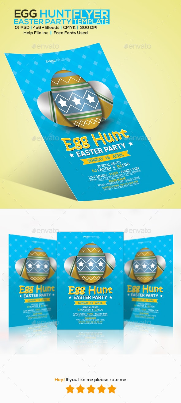 Eater Day Party Flyer - Flyers Print Templates