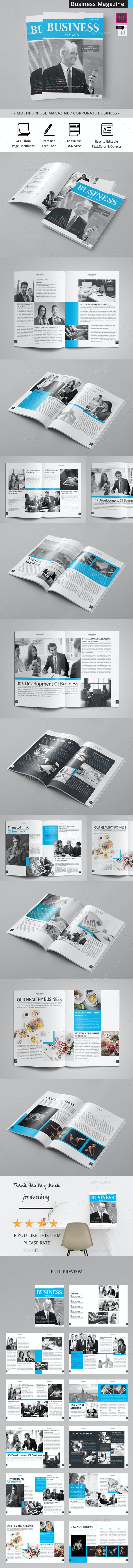 The Business Magazine - Magazines Print Templates
