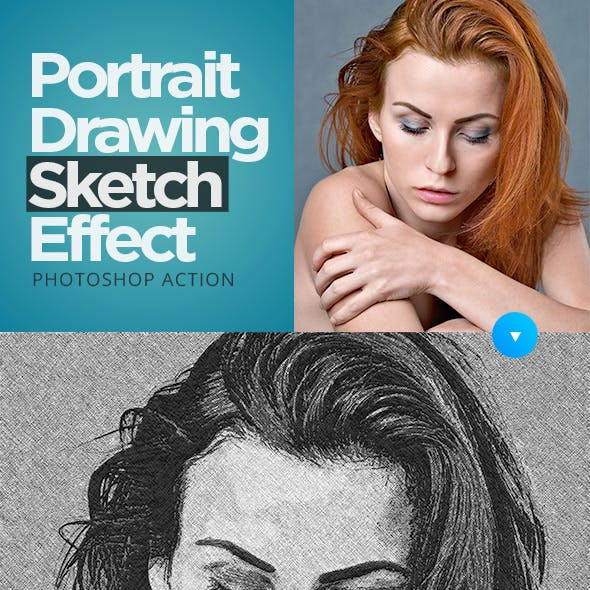 Portrait Drawing Sketch Effect
