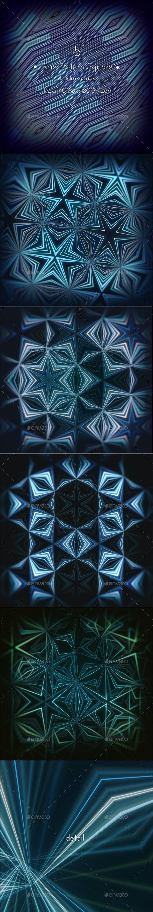 Blue Pattern Background - Patterns Backgrounds