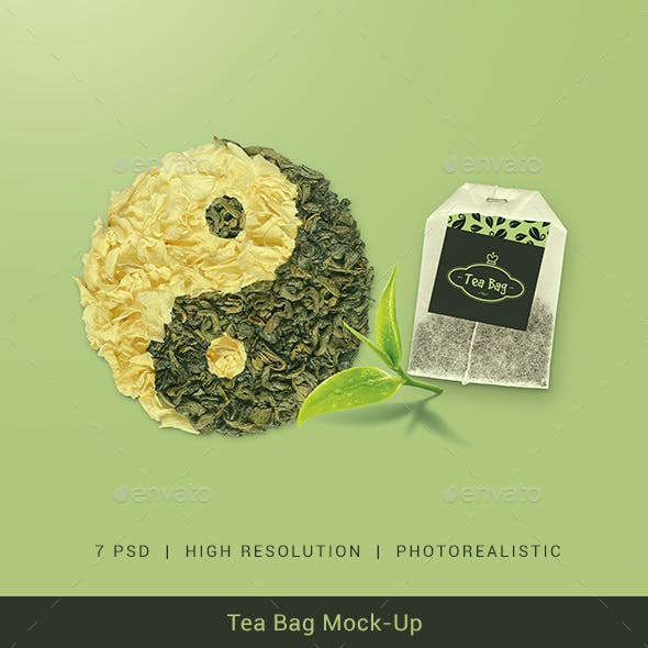Tea Bag Mock-Up