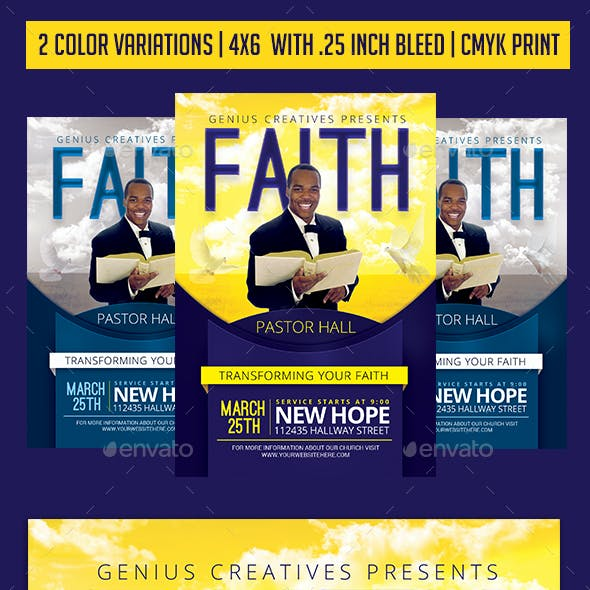 Faith Church Flyer