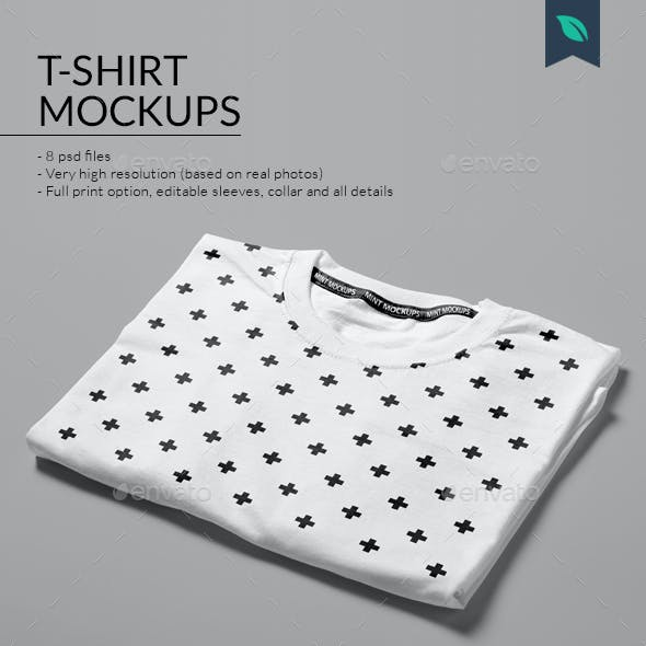 T-Shirt Mockups Studio Edition