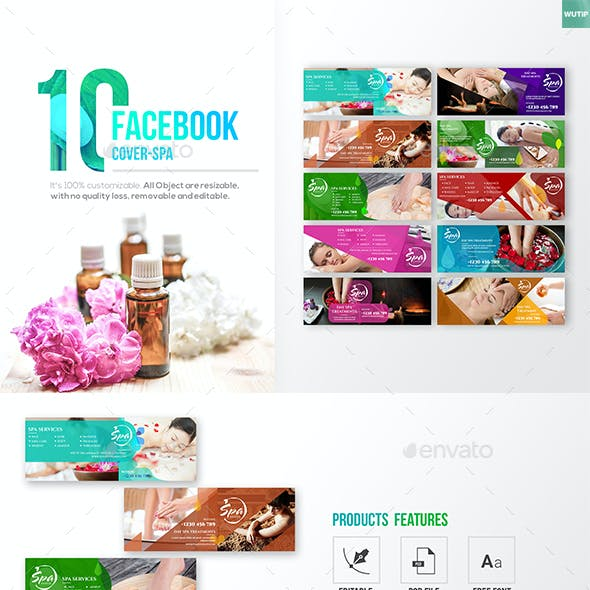 10 Facebook Cover - Spa