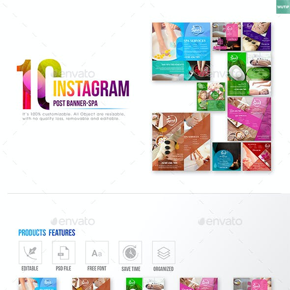 10 Instagram Post Banner-Spa