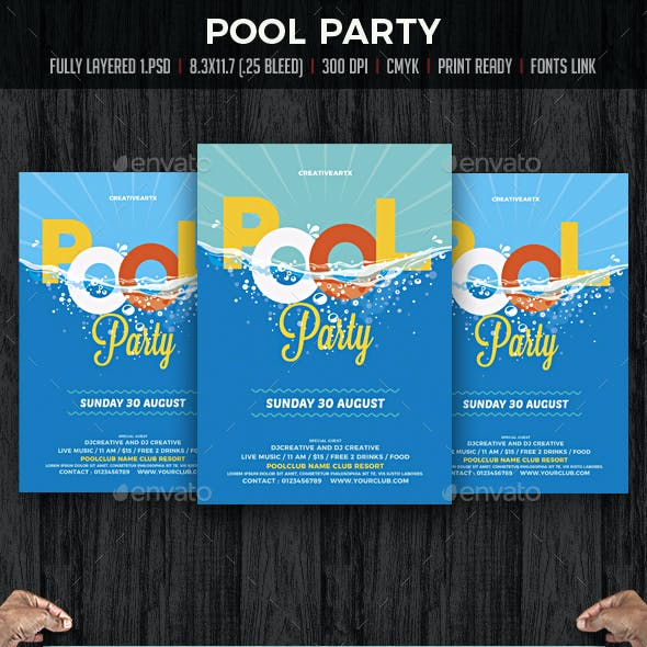Pool Party / Beach Party